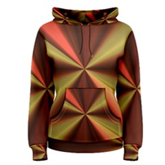 Copper Beams Abstract Background Pattern Women s Pullover Hoodie