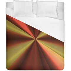 Copper Beams Abstract Background Pattern Duvet Cover (california King Size)