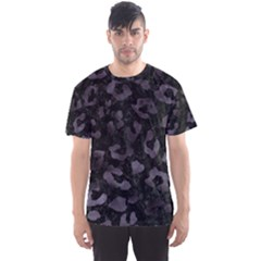 Skin5 Black Marble & Black Watercolor (r) Men s Sports Mesh Tee by trendistuff