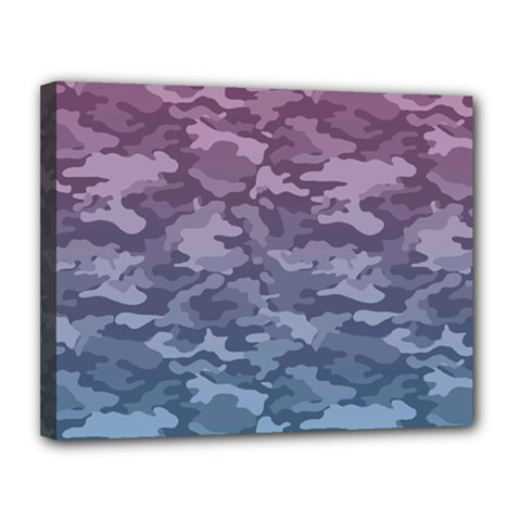 Celebration Purple Pink Grey Canvas 14  X 11  by Mariart