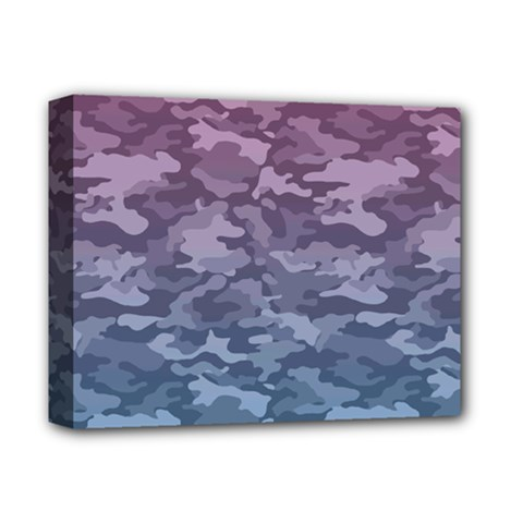 Celebration Purple Pink Grey Deluxe Canvas 14  X 11  by Mariart