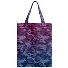 Celebration Purple Pink Grey Zipper Classic Tote Bag by Mariart