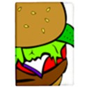Fast Food Lunch Dinner Hamburger Cheese Vegetables Bread iPad Air Flip View1