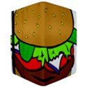 Fast Food Lunch Dinner Hamburger Cheese Vegetables Bread iPad Air Flip View3