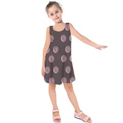 Donuts Kids  Sleeveless Dress by Mariart