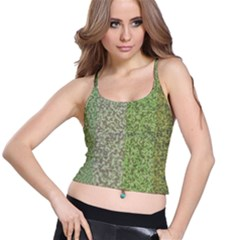 Camo Pack Initial Camouflage Spaghetti Strap Bra Top by Mariart