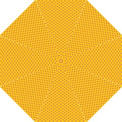Polka Dot Orange Yellow Folding Umbrellas by Mariart