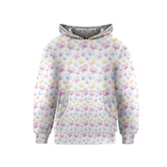 Pretty Colorful Butterflies Kids  Pullover Hoodie by tarastyle