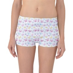 Pretty Colorful Butterflies Boyleg Bikini Bottoms