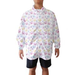 Pretty Colorful Butterflies Wind Breaker (kids)