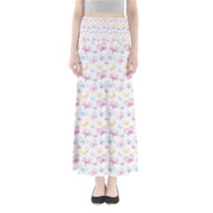 Pretty Colorful Butterflies Maxi Skirts