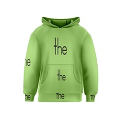 Sign Green The Kids  Pullover Hoodie by Mariart