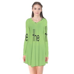 Sign Green The Flare Dress by Mariart