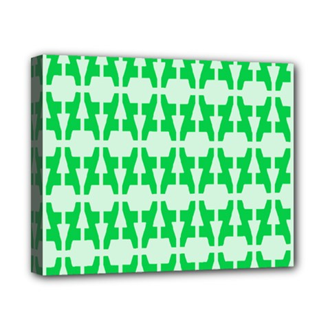 Sign Green A Canvas 10  X 8  by Mariart