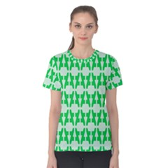 Sign Green A Women s Cotton Tee by Mariart