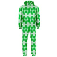 Sign Green A Hooded Jumpsuit (men)  by Mariart
