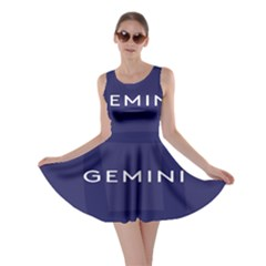 Zodiac Gemini Skater Dress by Mariart