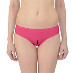 Watermelon Red Green White Black Fruit Hipster Bikini Bottoms by Mariart