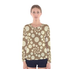 Pattern Women s Long Sleeve Tee by Valentinaart