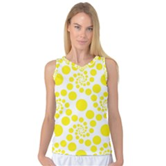 Pattern Women s Basketball Tank Top