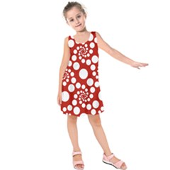 Pattern Kids  Sleeveless Dress by Valentinaart