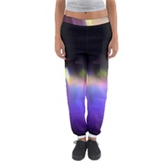 Niagara Falls Dancing Lights Colorful Lights Brighten Up The Night At Niagara Falls Women s Jogger Sweatpants by Simbadda