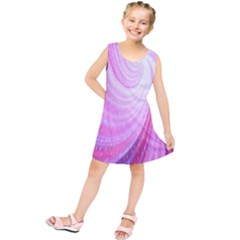 Vortexglow Abstract Background Wallpaper Kids  Tunic Dress by Simbadda