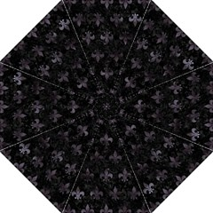 Royal1 Black Marble & Black Watercolor (r) Golf Umbrella by trendistuff