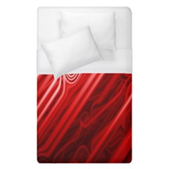 Red Abstract Swirling Pattern Background Wallpaper Duvet Cover (single Size) by Simbadda