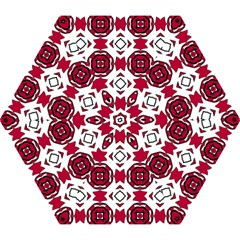 Seamless Abstract Pattern With Red Elements Background Mini Folding Umbrellas by Simbadda
