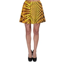 Patterned Wallpapers Skater Skirt by Simbadda