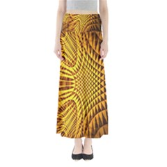 Patterned Wallpapers Maxi Skirts