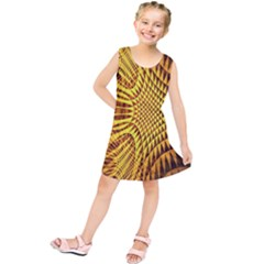 Patterned Wallpapers Kids  Tunic Dress