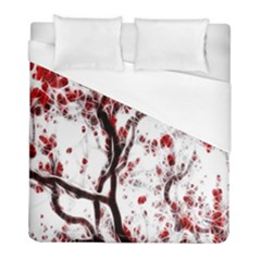 Tree Art Artistic Abstract Background Duvet Cover (full/ Double Size) by Simbadda