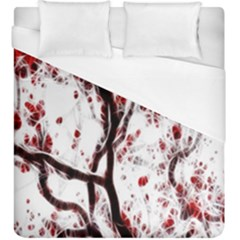 Tree Art Artistic Abstract Background Duvet Cover (king Size)