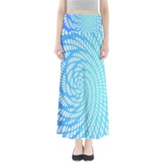 Abstract Pattern Neon Glow Background Maxi Skirts