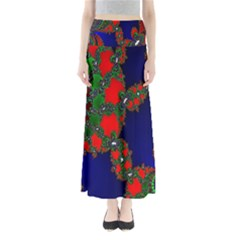 Recurring Circles In Shape Of Amphitheatre Maxi Skirts