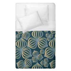 Gradient Flowers Abstract Background Duvet Cover (single Size)