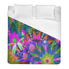 Wild Abstract Design Duvet Cover (full/ Double Size) by Simbadda