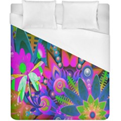 Wild Abstract Design Duvet Cover (california King Size) by Simbadda