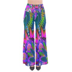 Wild Abstract Design Pants by Simbadda