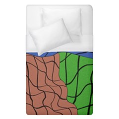 Abstract Art Mixed Colors Duvet Cover (single Size)