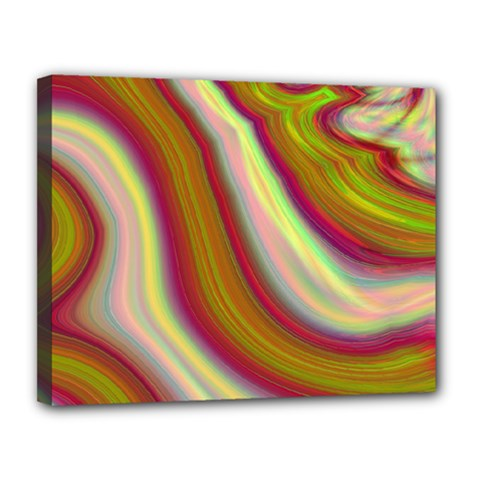 Artificial Colorful Lava Background Canvas 14  X 11  by Simbadda