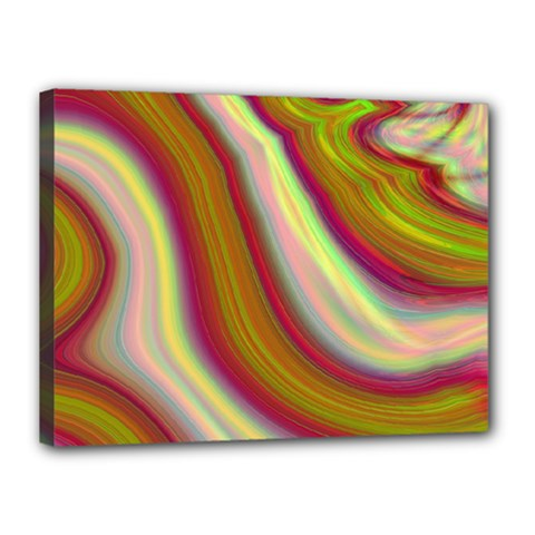 Artificial Colorful Lava Background Canvas 16  X 12