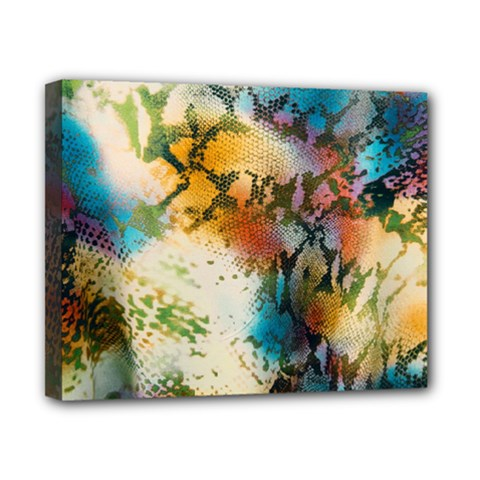 Abstract Color Splash Background Colorful Wallpaper Canvas 10  X 8  by Simbadda
