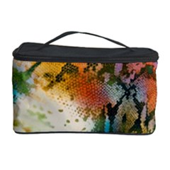 Abstract Color Splash Background Colorful Wallpaper Cosmetic Storage Case by Simbadda