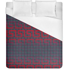 Abstract Tiling Pattern Background Duvet Cover (california King Size) by Simbadda