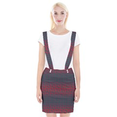Abstract Tiling Pattern Background Suspender Skirt