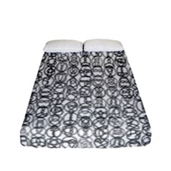 Abstract Knots Background Design Pattern Fitted Sheet (full/ Double Size) by Simbadda