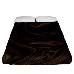 Abstract Art Fitted Sheet (queen Size) by Simbadda